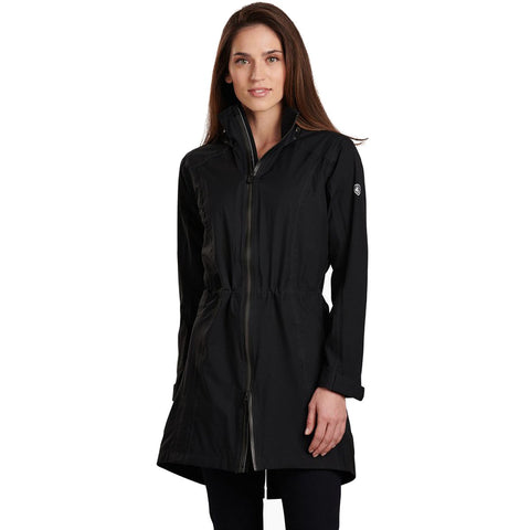 Women's Jetstream Trench-KUHL-Black-XS-Uncle Dan's, Rock/Creek, and Gearhead Outfitters
