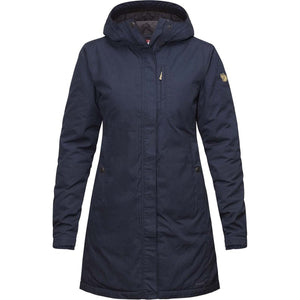 Women's Kiruna Padded Parka-Fjallraven-Dark Navy-L-Uncle Dan's, Rock/Creek, and Gearhead Outfitters