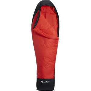 Women's Lamina 30F/-1C Sleeping Bag - Reg-Mountain Hardwear-Poppy Red-R RH-Uncle Dan's, Rock/Creek, and Gearhead Outfitters
