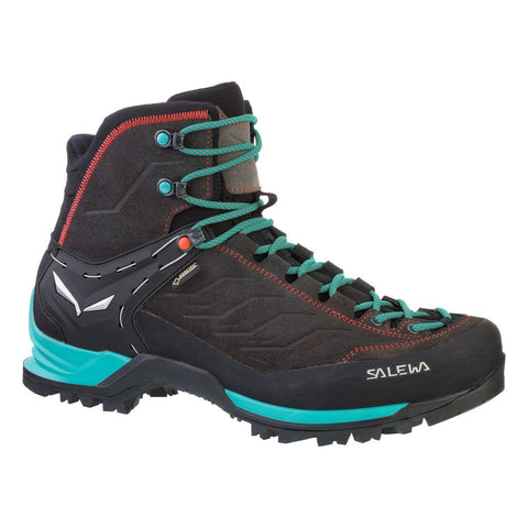 Women's Mountain Trainer Mid Gore-Tex-Salewa-Magnet Viridian Green-6-Uncle Dan's, Rock/Creek, and Gearhead Outfitters