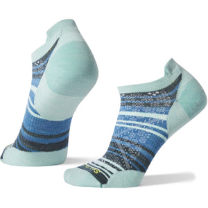 Women's PhD Run Ultra Light Striped Micro Socks-Smartwool-Mint-S-Uncle Dan's, Rock/Creek, and Gearhead Outfitters