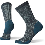Women's Poinsettia Graphic Crew Socks-Smartwool-Everglade-M-Uncle Dan's, Rock/Creek, and Gearhead Outfitters