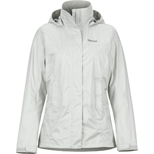 Women's PreCip Eco Jacket-Marmot-Platinum-L-Uncle Dan's, Rock/Creek, and Gearhead Outfitters