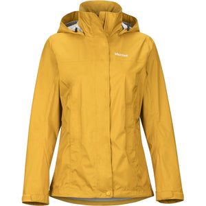 Women's PreCip Eco Jacket-Marmot-Yellow Gold-L-Uncle Dan's, Rock/Creek, and Gearhead Outfitters