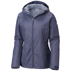 Women's Rainie Falls Jacket-Columbia-Nocturnal-XS-Uncle Dan's, Rock/Creek, and Gearhead Outfitters