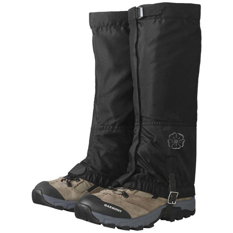 Women's Rocky Mountain High Gaiters-Outdoor Research-Black-S-Uncle Dan's, Rock/Creek, and Gearhead Outfitters