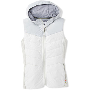 Women's Smartloft 60 Hoody Vest-Smartwool-Ash-XS-Uncle Dan's, Rock/Creek, and Gearhead Outfitters