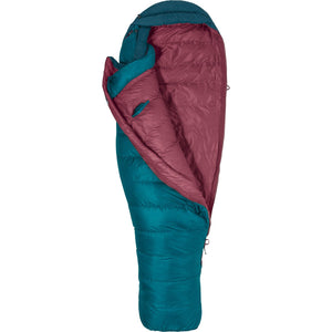 Women's Teton 15 Sleeping Bag - Long-Marmot-Late Night Vintage Navy-LNG LEFT-Uncle Dan's, Rock/Creek, and Gearhead Outfitters