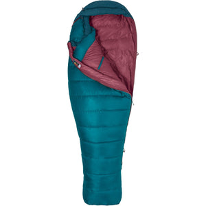 Women's Teton 15 Sleeping Bag-Marmot-Late Night Vintage Navy-REG LEFT-Uncle Dan's, Rock/Creek, and Gearhead Outfitters
