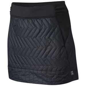 Women's Trekkin Insulated Mini Skirt-Mountain Hardwear-Black-L-Uncle Dan's, Rock/Creek, and Gearhead Outfitters
