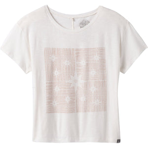 Women's Chez Tee-prAna-Soft White Constellations-S-Uncle Dan's, Rock/Creek, and Gearhead Outfitters