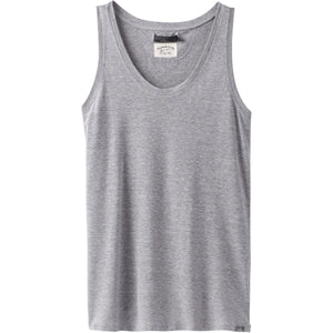 Women's Cozy Up Tank-prAna-Heather Grey-L-Uncle Dan's, Rock/Creek, and Gearhead Outfitters
