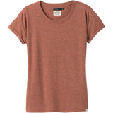 Women's Cozy Up T-Shirt-prAna-Liqueur Heather-XS-Uncle Dan's, Rock/Creek, and Gearhead Outfitters