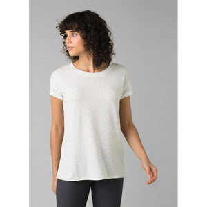 Women's Cozy Up T-Shirt-prAna-Charcoal Heather-XS-Uncle Dan's, Rock/Creek, and Gearhead Outfitters