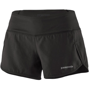 Patagonia Women's Strider Shorts - 3 1/2 in.-24654_Black