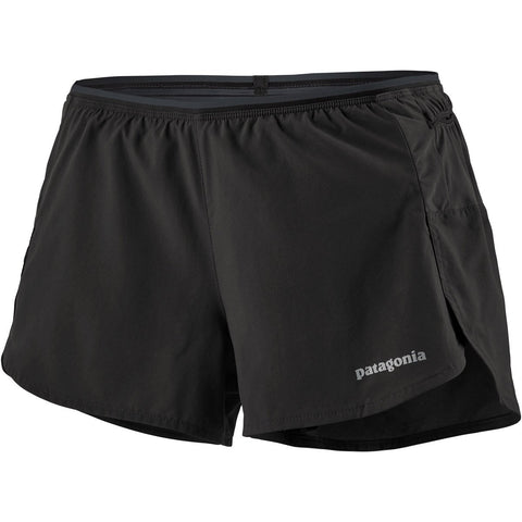 Women's Strider Pro Shorts - 3 in.-Patagonia-Black-L-Uncle Dan's, Rock/Creek, and Gearhead Outfitters