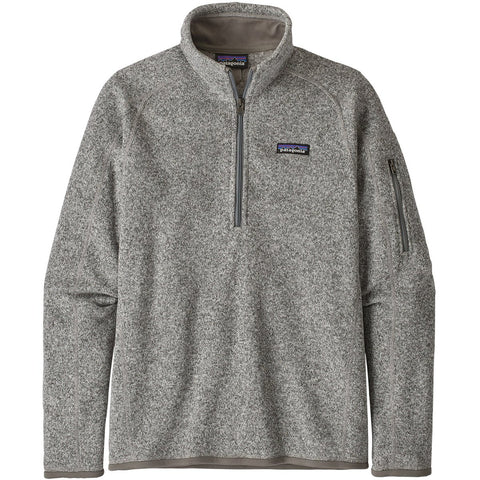 Women's Better Sweater 1/4-Zip Fleece-Patagonia-Berlin Blue-S-Uncle Dan's, Rock/Creek, and Gearhead Outfitters