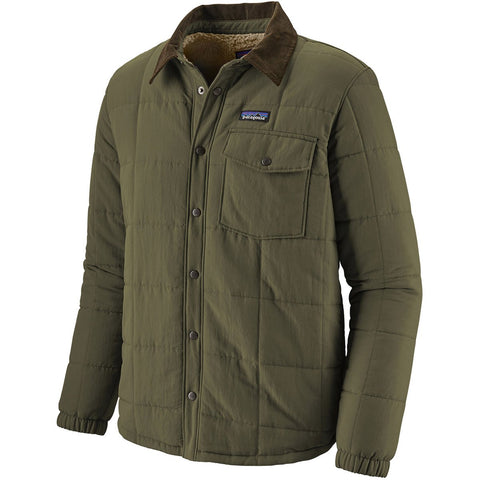 Patagonia Men's Isthmus Quilted Shirt Jacket-26900_Forge Grey
