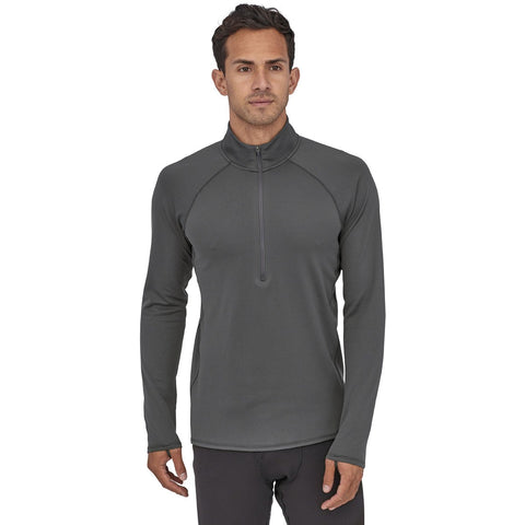 Patagonia Men's Capilene Midweight Zip-Neck-44447_Forge Grey