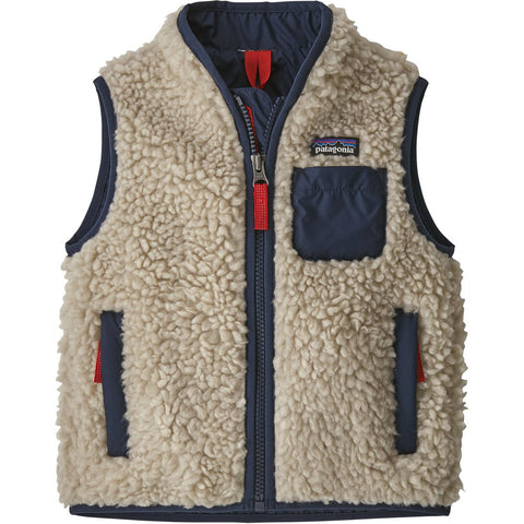 Baby Retro-X Vest-Patagonia-Natural w Bearfoot Tan-6-12M-Uncle Dan's, Rock/Creek, and Gearhead Outfitters