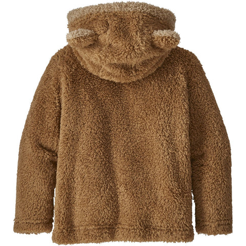 Patagonia Baby Furry Friends Hoody-61155_Beech Brown