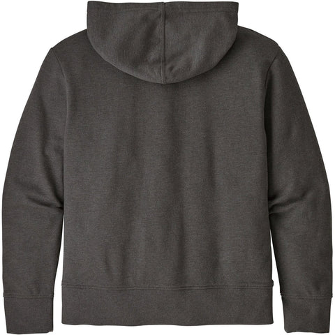 Patagonia Kids' Lightweight Graphic Hoody Sweatshirt-63025_P-6 Logo: Forge Grey
