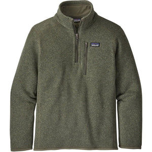 Patagonia Boys' Better Sweater 1/4-Zip-65706_Industrial Green