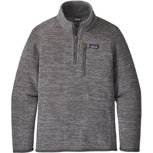 Patagonia Boys' Better Sweater 1/4-Zip-65706_Nickel