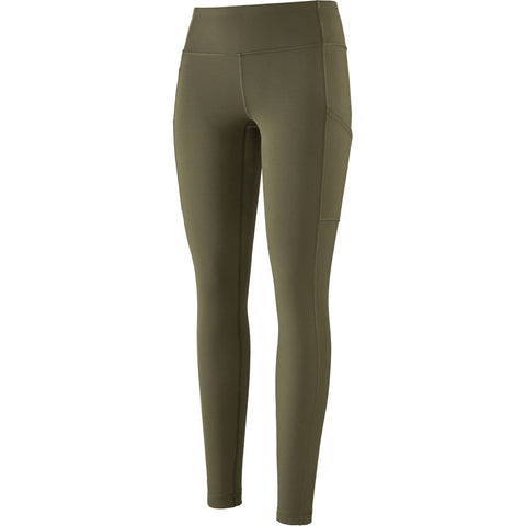 Patagonia Women's Pack Out Tights-21995_Basin Green