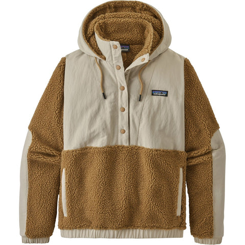 Patagonia Women's Shelled Retro-X Pullover-22885_Furry Taupe