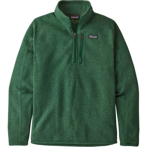 Men's Better Sweater 1/4-Zip Fleece - Clearance-Patagonia-Barn Red-S-Uncle Dan's, Rock/Creek, and Gearhead Outfitters