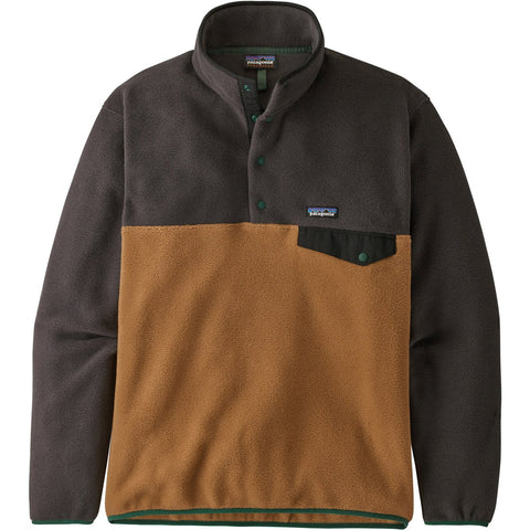 Patagonia Men's Lightweight Synchilla Snap-T Pullover-25580_Beech Brown