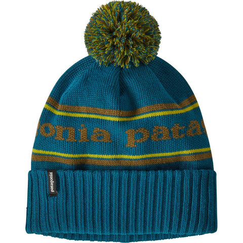 Patagonia Powder Town Beanie-29187_Park Stripe Knit: Crater Blue