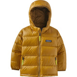 Patagonia Baby Hi-Loft Down Sweater Hoody-60493_Buckwheat Gold