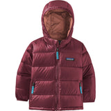 Patagonia Baby Hi-Loft Down Sweater Hoody-60493_Chicory Red