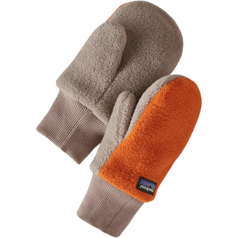 Patagonia Baby Pita Pocket Mittens-60549_Desert Orange