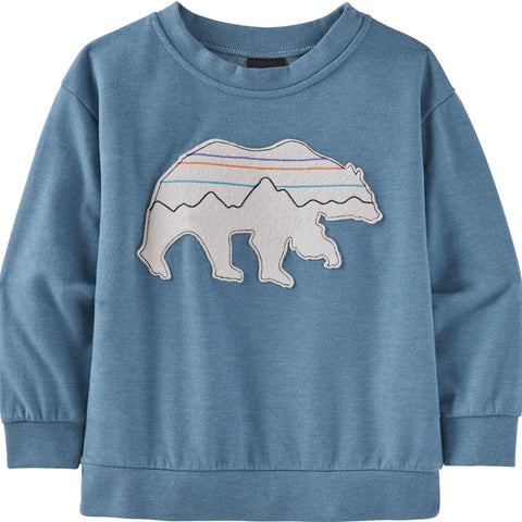 Patagonia Baby Lightweight Crew Sweatshirt-60975_Live Simply Bee Cool Man: White Wash