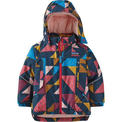 Patagonia Baby Snow Pile Jacket-61116_Cozy As It Gets: Crater Blue