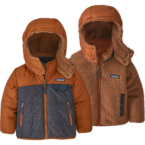Patagonia Baby Reversible Tribbles Hoody-61160_Barn Dance Multi: Piton Purple