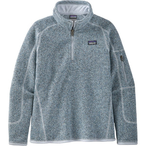 Patagonia Girls' Better Sweater 1/4-Zip-65696_Ice Blue