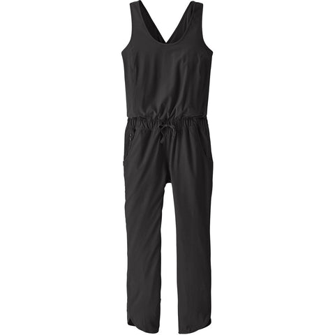 Women's Fleetwith Romper-Patagonia-Black-S-Uncle Dan's, Rock/Creek, and Gearhead Outfitters