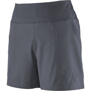 Patagonia Women's Happy Hike Shorts - 4 in.-21233_Smolder Blue