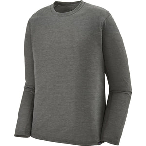 Patagonia Men's Long-Sleeved Capilene Cool Trail Shirt-24486_Forge Grey