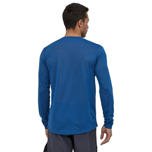 Patagonia Men's Long-Sleeved Capilene Cool Trail Shirt-24486_Superior Blue