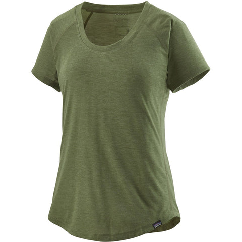 Patagonia Women's Capilene Cool Trail Shirt-24501_Camp Green
