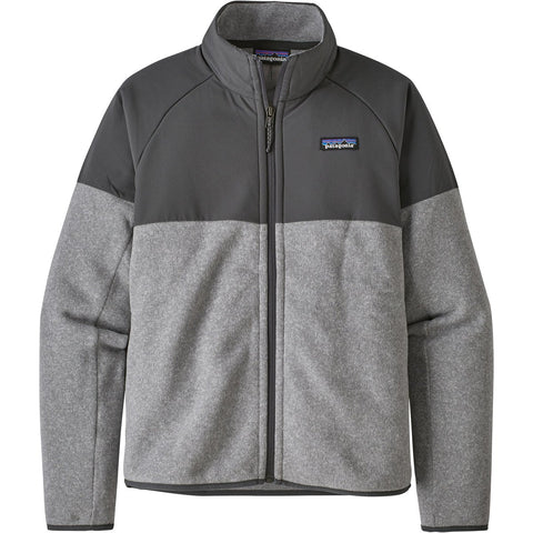 Patagonia Women's Lightweight Better Sweater Shelled Jacket-26100_Feather Grey
