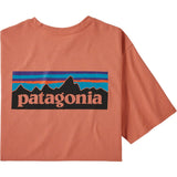 Patagonia Men's P-6 Logo Pocket Responsibili-Tee-38512_Mellow Melon