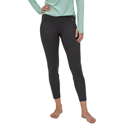 Patagonia Women's Capilene Midweight Bottoms-44492_Black