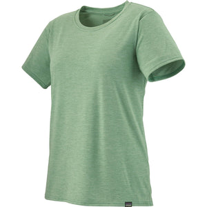Patagonia Women's Capilene Cool Daily Shirt-45225_Gypsum Green - Light Gypsum Green X-Dye