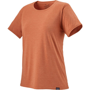 Patagonia Women's Capilene Cool Daily Shirt-45225_Mellow Melon - Light Mellow Melon X-Dye